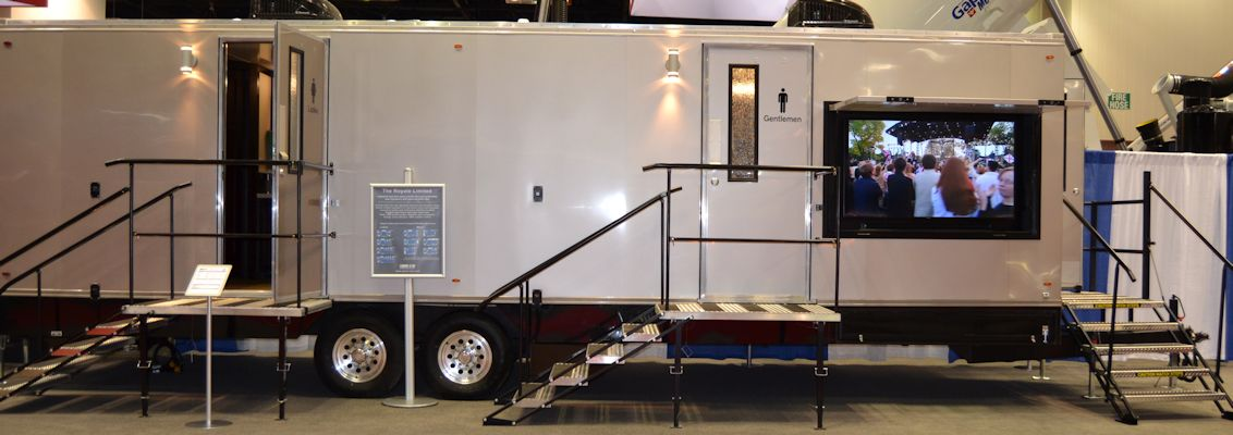 Portable Bathroom Trailers Air Conditioned Laredo Stws Texas